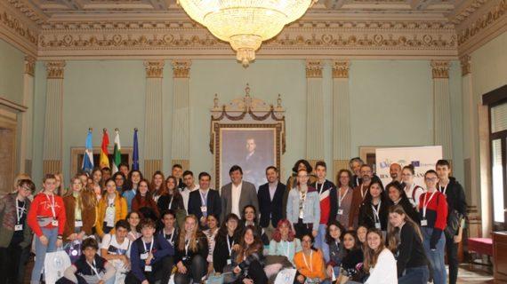 Estudiantes procedentes de Alemania, Italia y Letonia llegan a Huelva