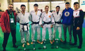 Buena actuación de los deportistas del TSV Huelva en el Campeonato celebrado en Olivenza (Badajoz).