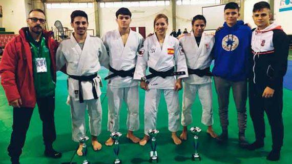 El Huelva TSV clasifica a cuatro deportistas para el Campeonato de España de Judo