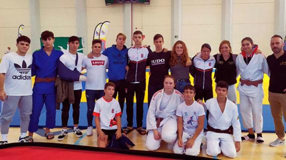 Tres medallas lograron los deportistas del Club Huelva TSV en el Trofeo Colombino Cadete de Judo