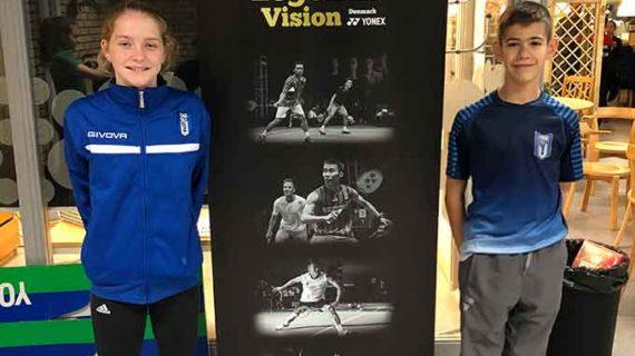 Guillermo Nuviala y Laura Anglada acumulan experiencia en el Swedish Youth Games