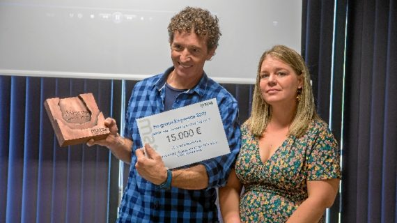 """Carlos Martín, ganador del Programa Emprende de MATSA: """"El premio ha supuesto la inversión principal que necesitábamos para iniciar nuestro proyecto"""""""