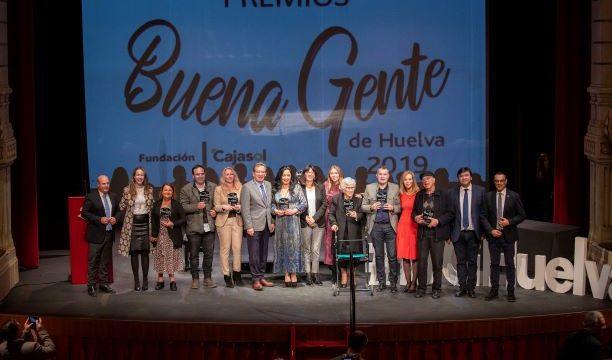 Emotivo reconocimiento a los Premios Buena Gente de Huelva 2019