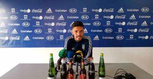 """Según Alberto Quiles """"el Recre es el club más grande que hay, tenemos que dar un paso adelante"""". / Foto: @recreoficial."""
