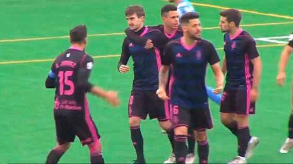 El Recre se tiene que conformar con la pedrea del empate (2-2) en su visita al Villarrubia