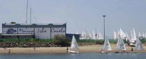 Todo está a punto en Isla Canela para la disputa de la Copa de Andalucía de la Clase Láser Radial y Láser 4.7.