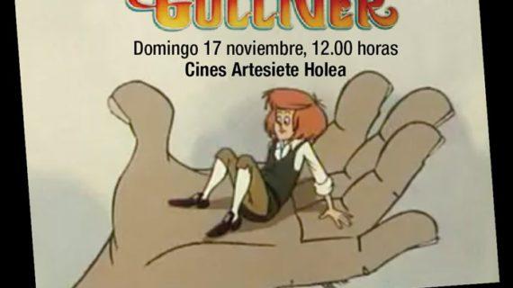 Artesiete acoge la proyección gratuita de la mítica película de animación 'Los Viajes de Gulliver'