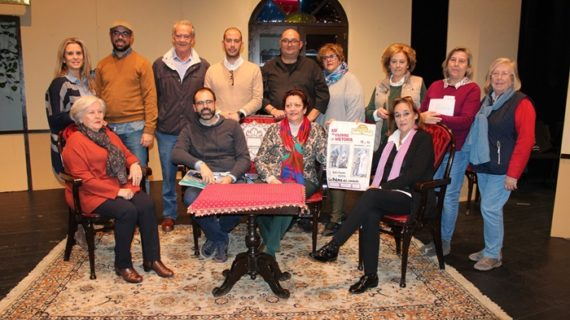 El Grupo de Teatro La Era estrena 'Así se escribe la historia' en La Palma del Condado