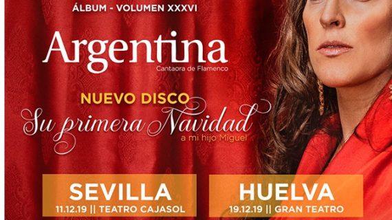 La cantante Argentina sacará nuevo disco el próximo 29 de noviembre
