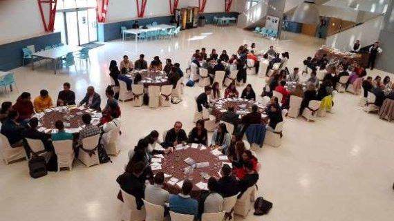 AIQBE participa en el 'Café con la Industria' de la Universidad de Huelva