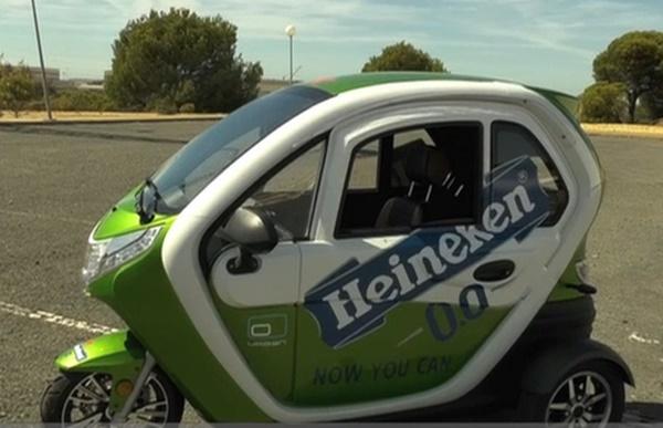 Los vehículos sostenibles diseñados en la UHU, este martes en televisión