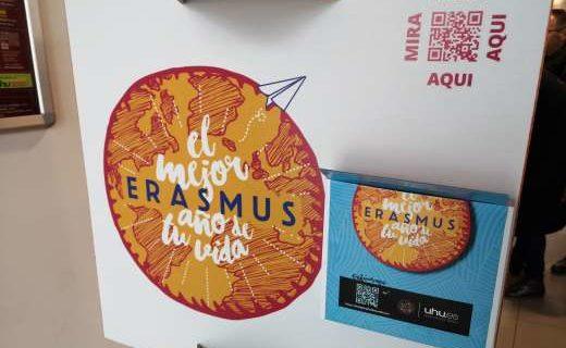 La Onubense oferta un año más las becas Erasmus de Movilidad Internacional