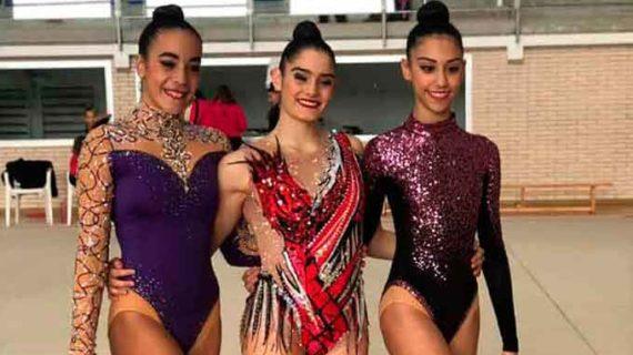 Tres medallas obtuvo el Club Rítmico Colombino en la final de la Liga Iberdrola de Clubes