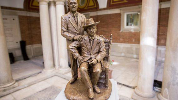 Las nuevas esculturas de Paco y Pepe Isidro