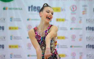 Lucía González venció el concurso de cuerda.