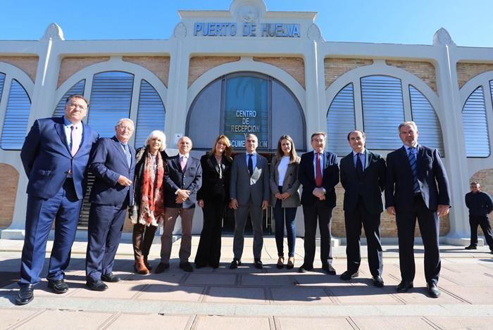 La Autoridad Portuaria de Huelva acoge una reunión de coordinación de los Puertos de Andalucía
