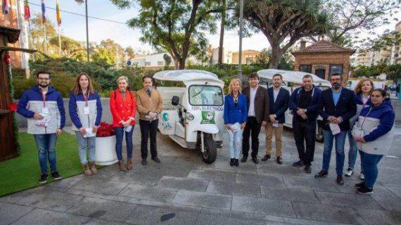 Huelva cuenta por vez primera con un servicio de rutas turísticas en vehículos eléctricos Tuk Tuk
