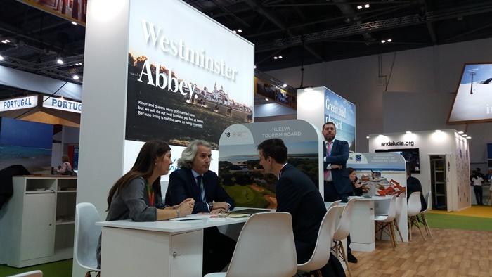 El destino Huelva se convierte en la opción ideal para el mercado británico en la WTM de Londres