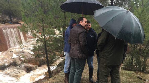 Labores de restauración en Nerva para prevenir más inundaciones