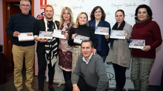 Las 'Chicas SR' elaboran un calendario solidario a beneficio de la lucha contra el cáncer