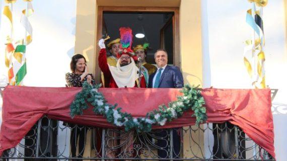 El Heraldo de los Reyes Magos ya tiene en su poder la llave de la ciudad de La Palma
