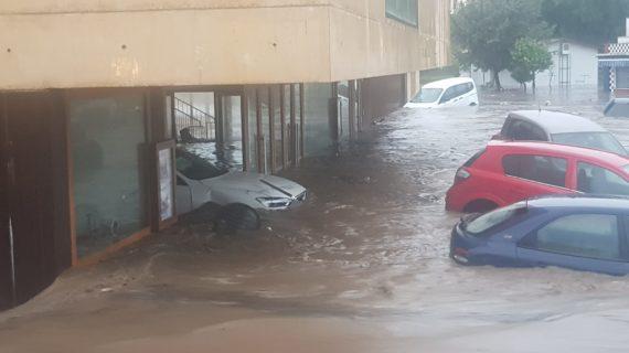 La provincia de Huelva trabaja para solventar las consecuencias provocadas por la tormenta Elsa