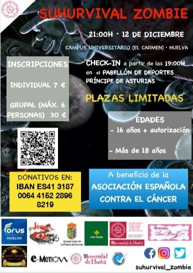 La Universidad de Huelva organiza un evento en colaboración con la Asociación Española Contra el Cáncer.