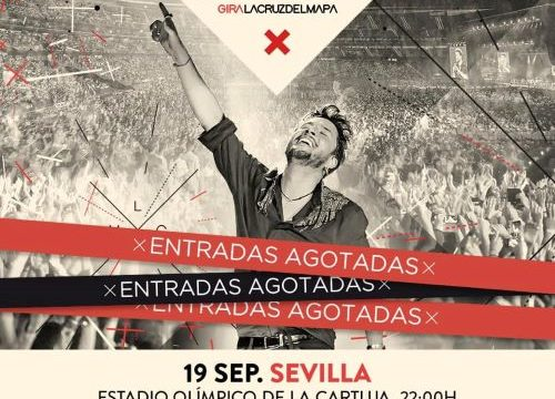 Manuel Carrasco agota en unas horas las entradas de su concierto en el Estadio Olímpico de Sevilla