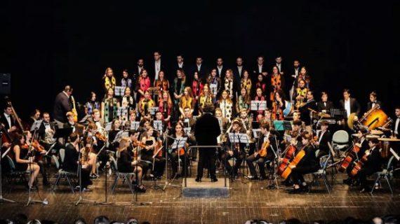 Éxito del concierto 'Rocío Sinfónico' celebrado en la Casa Colón de Huelva