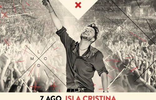 Manuel Carrasco agota las entradas para su concierto de Isla Cristina en 45 minutos