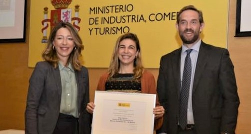 La empresa nacida en Punta Umbría 'Real Fábrica', Premio Nacional de Comercio Interior