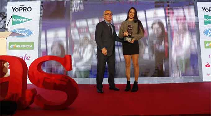 La nadadora onubense Alba Vázquez gana el Premio As Promesa