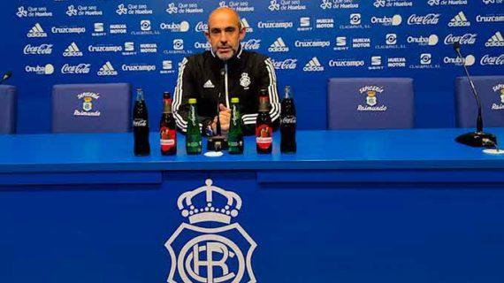 """Alberto Monteagudo quiere """"un Recre al 200%"""" para cerrar el año en casa con el alegrón de otra victoria"""