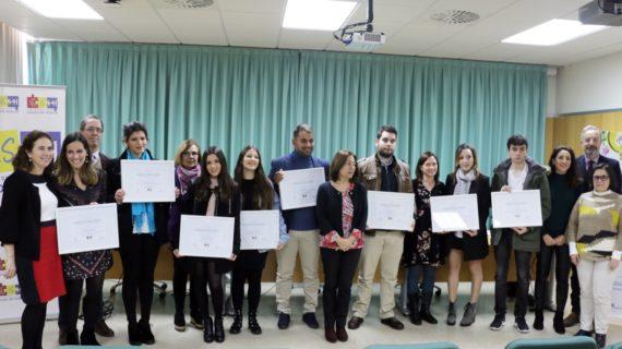 Ocho jóvenes universitarios ven premiados sus proyectos con la Cátedra de Innovación Social de Aguas de Huelva