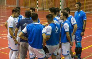 El CD San Juan FS visita este sábado la cancha del líder, Bujalance. / Foto: Javi Pérez / @SanJuan_Futsal.