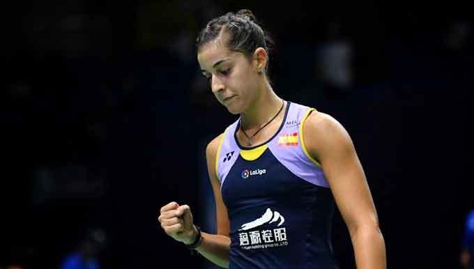 Carolina Marín ya conoce el calendario de competiciones hasta final de 2020.