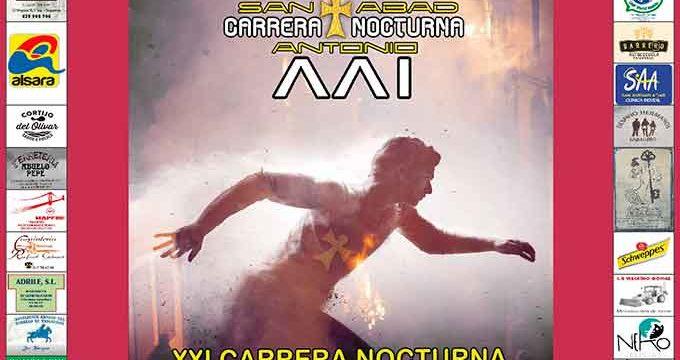 La XXI Carrera Nocturna 'San Antonio Abad' en Trigueros se celebrará el próximo 11 de enero