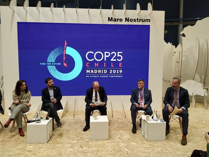 Huelva participa en la Cumbre COP25 de Madrid como muestra de su compromiso contra el cambio climático