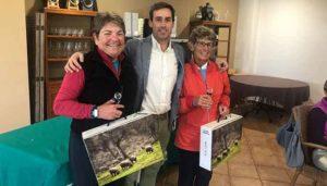 Las ganadoras scratchs del Torneo de Navidad de Parejas celebrado en Bellavista.