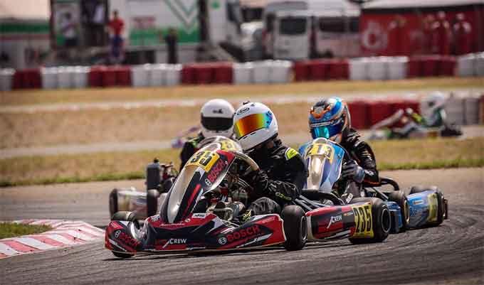 Un solo punto privó al piloto de Aljaraque, José Luis Cisneros, del Campeonato de Andalucía de Karting.