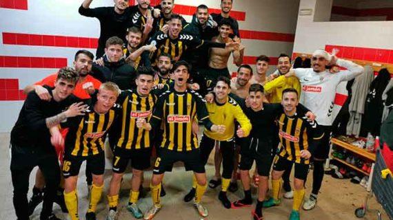 El San Roque apela al orden y la firmeza defensiva para ganar la 'final' ante el Xerez Deportivo (1-0)