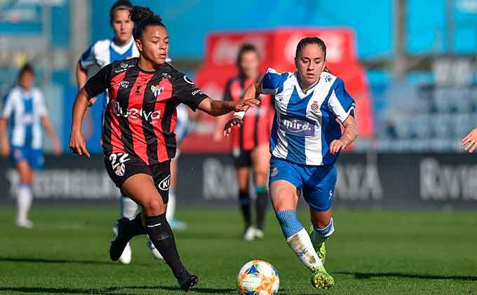 El Sporting de Huelva lleva dos partidos seguidos sin perder fuera de casa. / Foto: www.lfp.