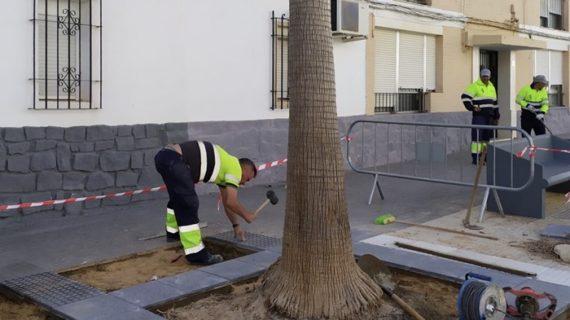 El Ayuntamiento realiza en noviembre 60 obras de mantenimiento en la ciudad