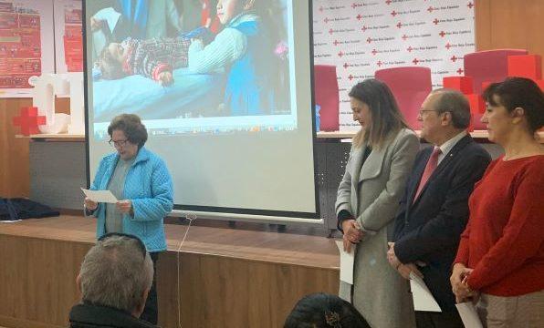 Cruz Roja Huelva une la fuerza de personas voluntarias y usuarias por el 'Derecho a vivir en paz'