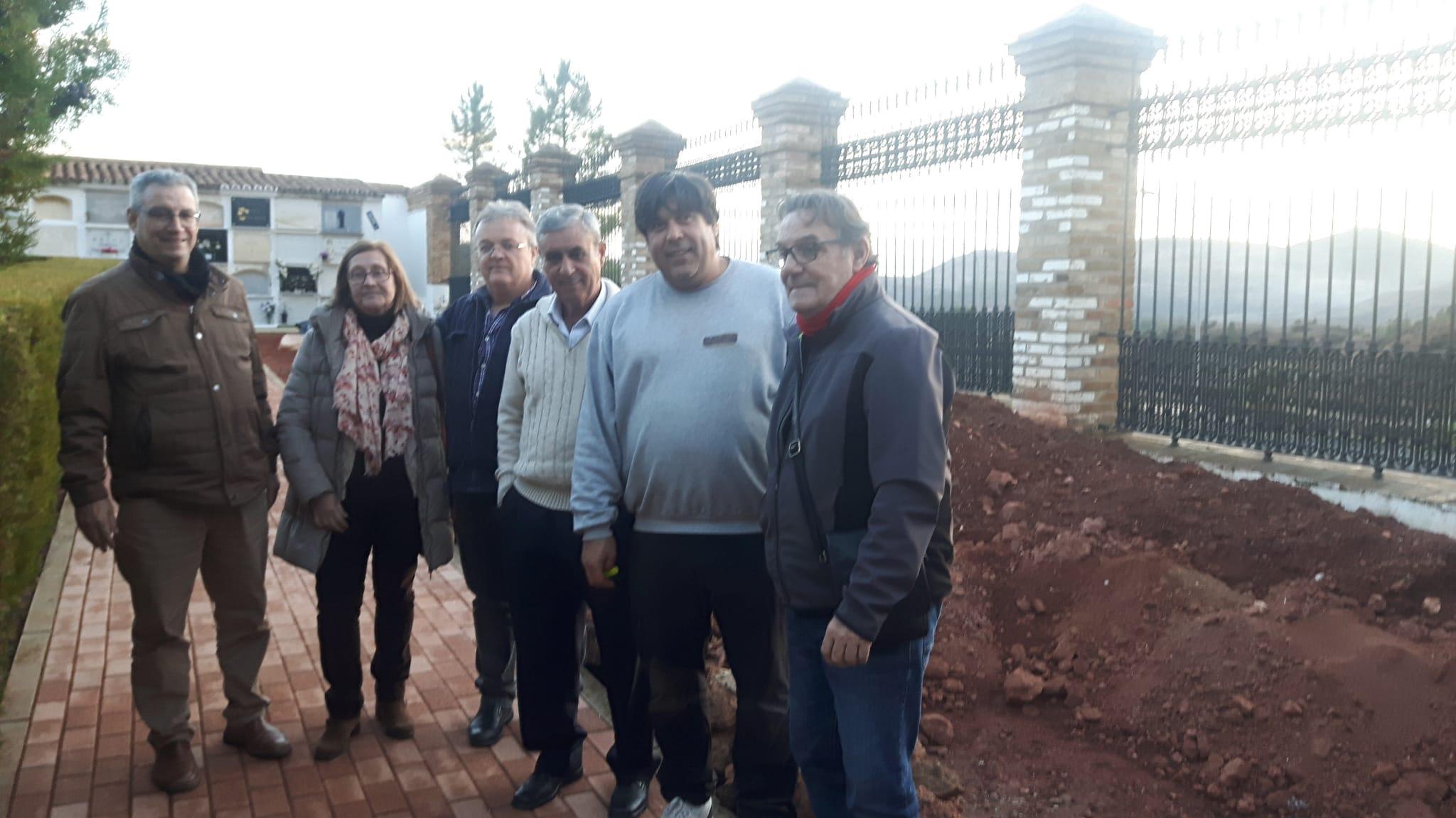 Recuperados 20 cadáveres en la Fosa Sur del Cementerio de Nerva
