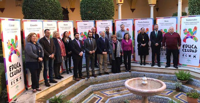 Almonte, Lepe y Punta Umbría galardonados con el Premio Educaciudad