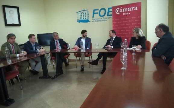 La Cámara de Comercio y la FOE promoverán acciones conjuntas