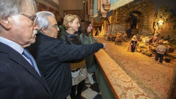 El Belén de la Fundación Cajasol ilumina unos 'Gozos de Diciembre' repletos de actividades en Huelva