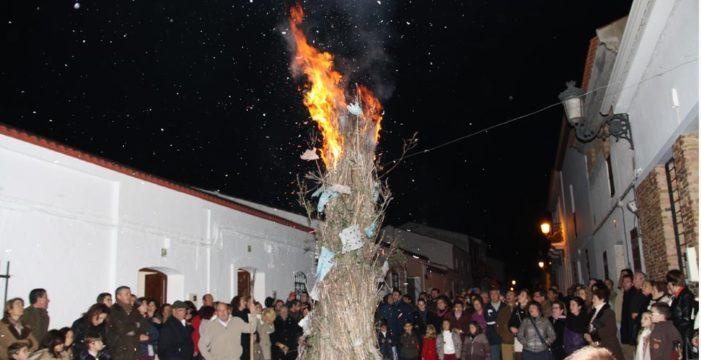 'Las Jachas', una arraigada tradición del 8 de diciembre en Alosno