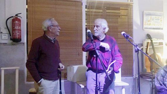 Paco Cruz y Francisco Andrés Rite presentan su libro 'iniciación al flamenco'
